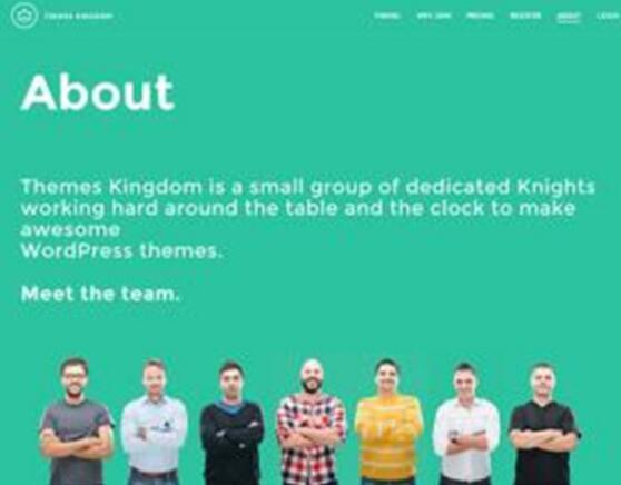 """""""关于我们""""页面的网站设计方法-1 (网站设计)"""